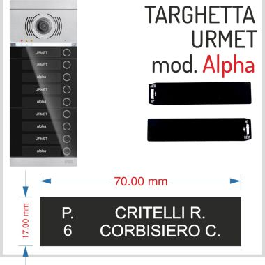 alpha catalogo urmet