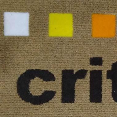 Tappeti zerbini personalizzati intarsiati