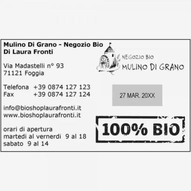 Impronta Timbro Trodat Professional Datario a destra 54120 116 x 70 mm