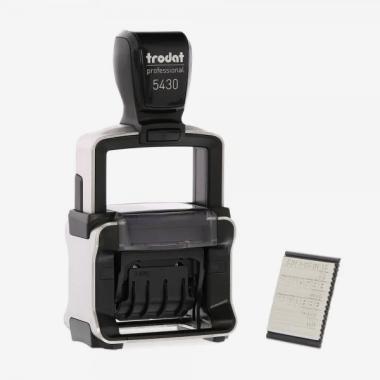 Timbro Trodat Professional 5430L Datario 41x24 mm