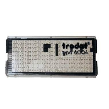 trodat-typo-6004-set-caratteri