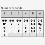 Trodat Classic 15186 Timbro Numeratore 6 colonne 18 mm