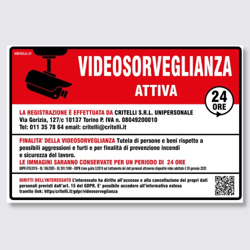 cartelli-videosorveglianza-norma-gdpr2020-36x24cm-rosso-nero