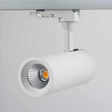 faretto Binario bianco a soffitto o parete sistema di illuminazione LED