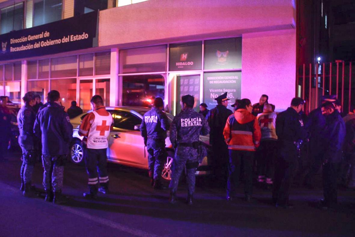 Se quita la vida elemento de la Polícia Bancaria en Pachuca