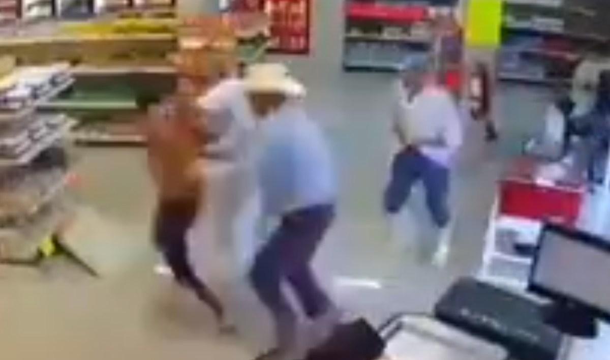 Frustran asalto en una carnicería (VIDEO)