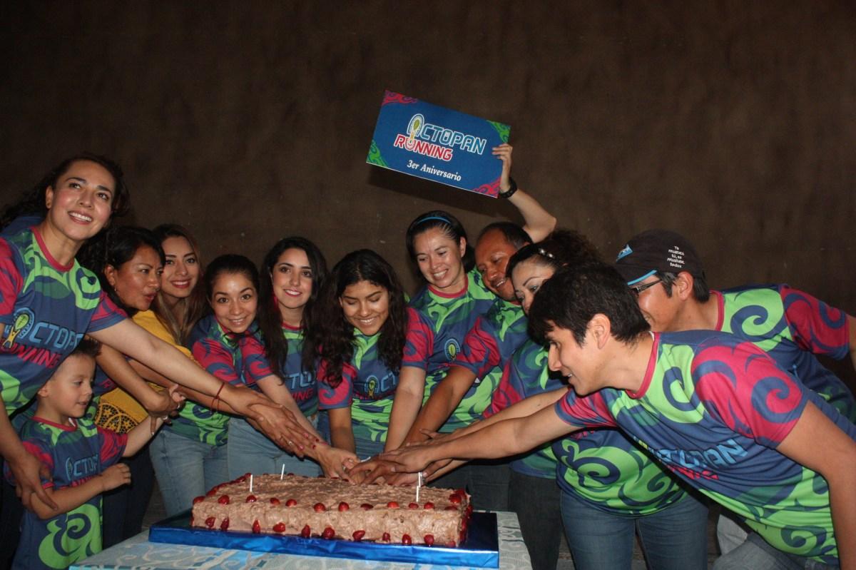 Celebran aniversario de Actopan Running