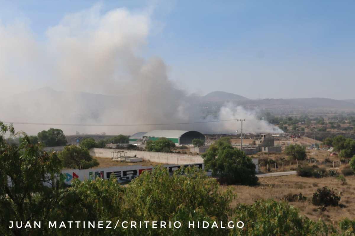 Presentan denuncia colectiva por 150 casos de afectados tras incendio de basurero