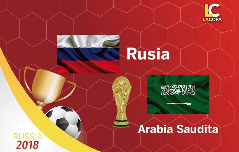 Links para ver el juego Rusia vs Arabia Saudita
