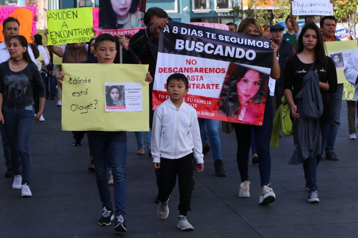 "Desaparición de Olayet es ""asunto delicado"": abogado"