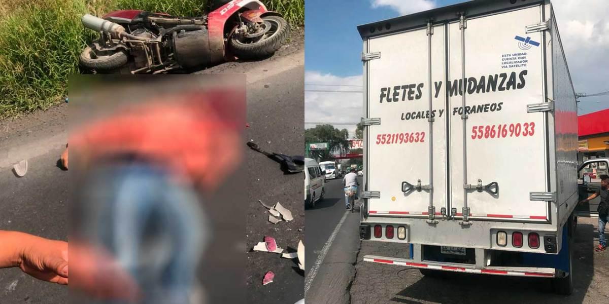 Fallece motociclista tras accidente en la México-Pachuca