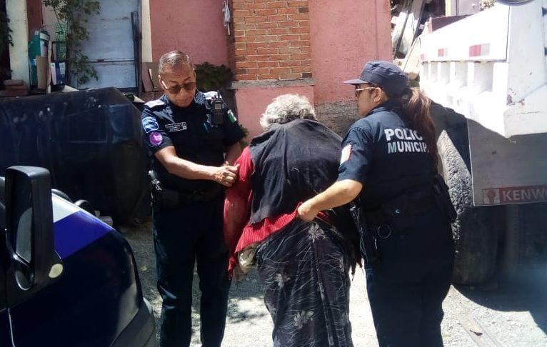 Localizan a una mujer extraviada en Pachuca