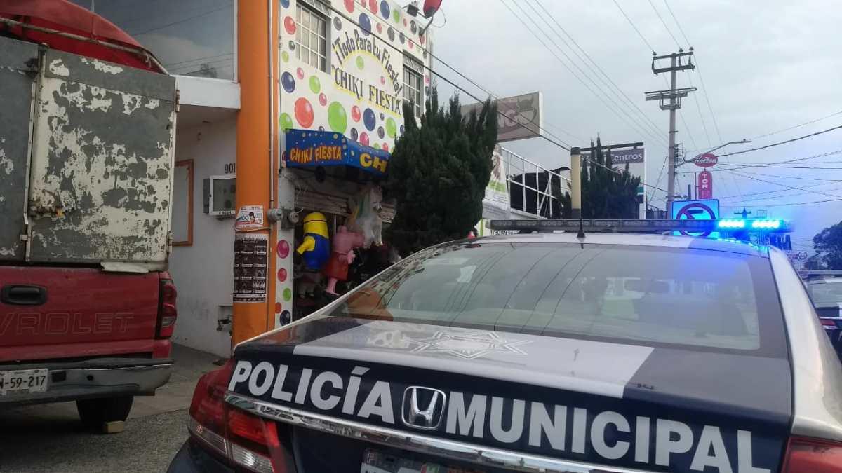 Reportan intento de asalto en avenida Juárez de Pachuca