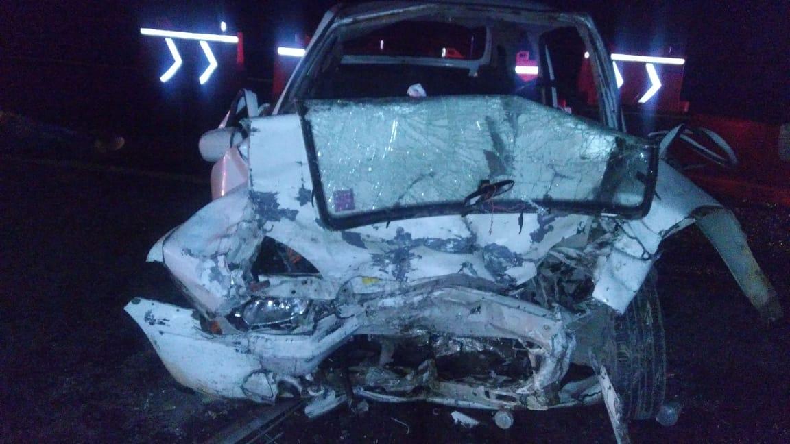 Fallecen tres personas por choque sobre México-Tuxpan, en Singuilucan