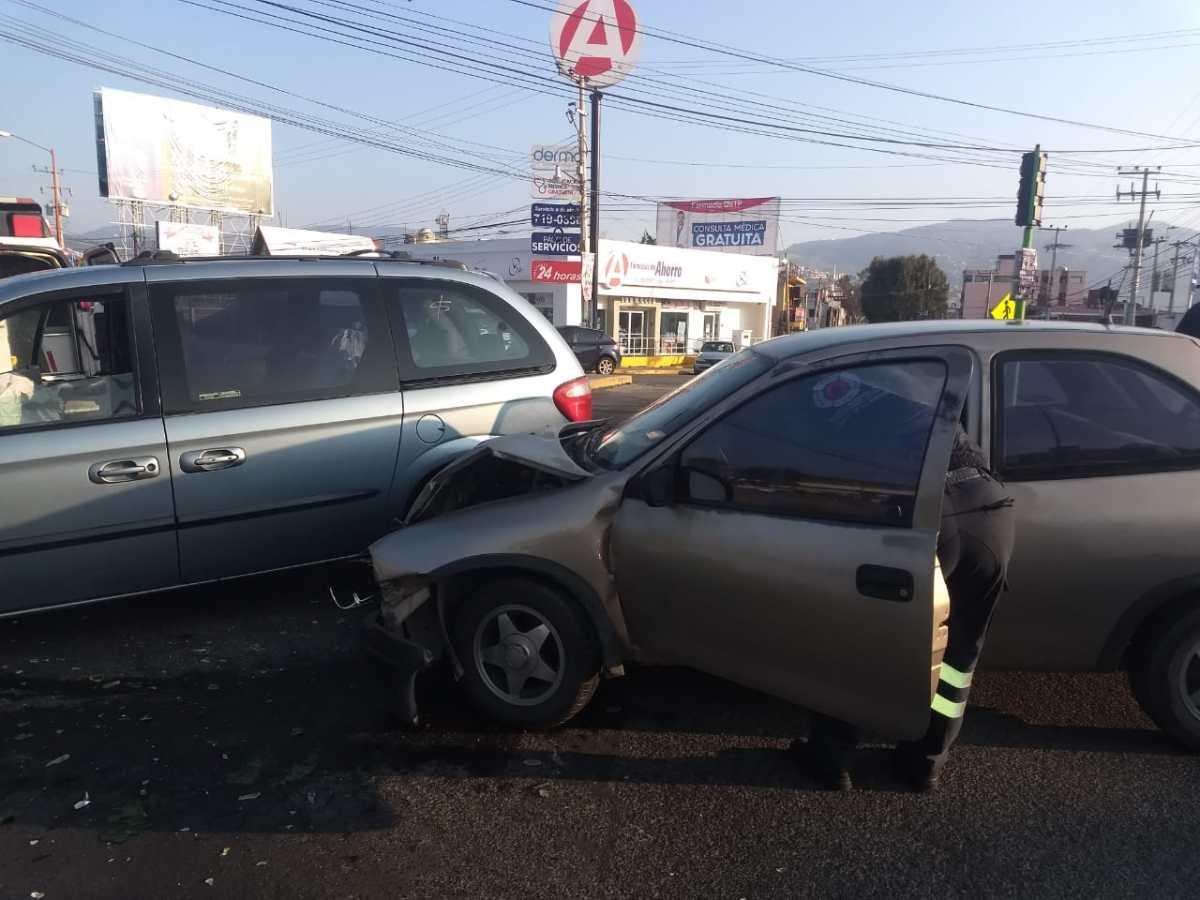 Reportan accidente en la Pachuca-Tulancingo; hubo un lesionado