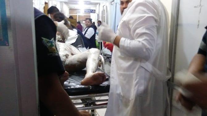 Hospitales saturados tras explosión en Tlahuelilpan