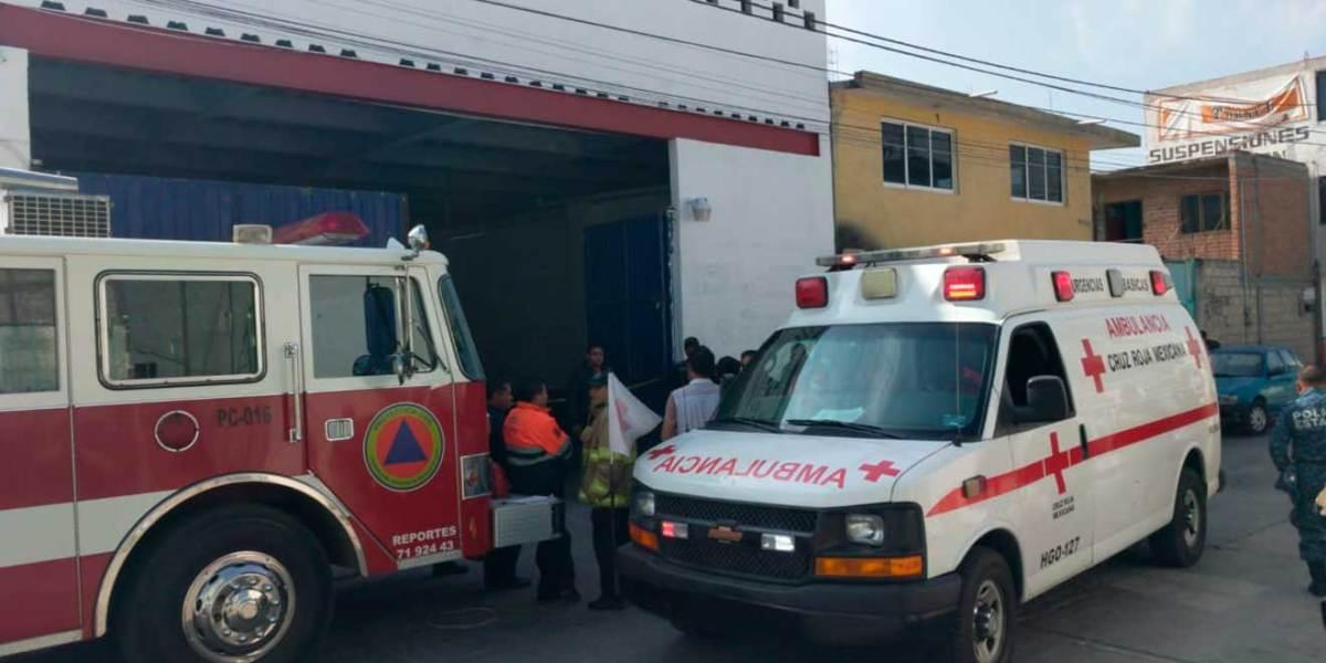 Fallece mecánico tras accidente en taller de Santa Julia, Pachuca