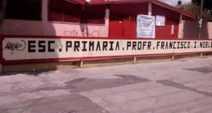 Roban equipo de cómputo de una escuela en Pachuca