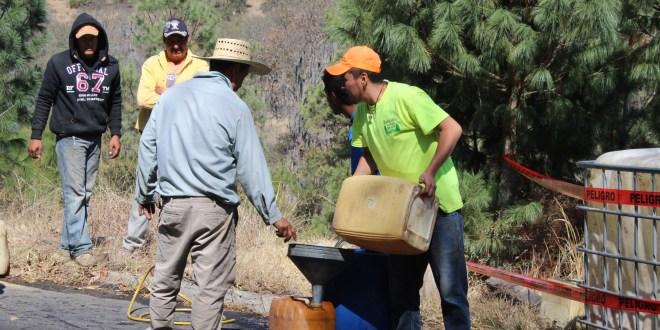 Diluye AMLO negocio de los huachicoleros en Hidalgo