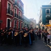 Callejoneada en Pachuca