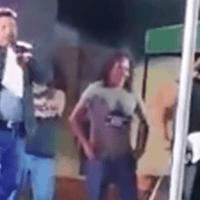 Con insultos, alcalde de Tlahuelilpan se despide de su última feria (VIDEO)