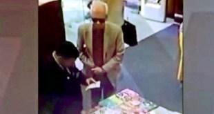 Embajador de México robó libro en Argentina