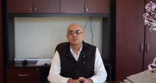 Rodolfo Pascoe López, titular de la Comisión de Agua y Alcantarillado del Municipio de Tulancingo (Caamt)