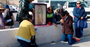 Con rezos, protestan peregrinos vs el aborto