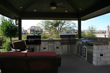 Outdoor BBQ Pits  Patios  Pool Builders Round Rock TX  Crites Custom Pools