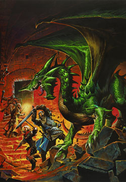 4th Ed. Green Dragon