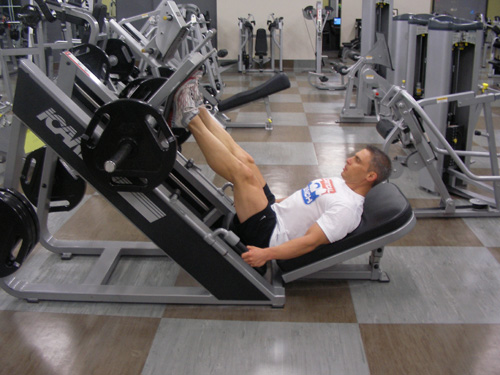 Leg Press Exercise Video Example