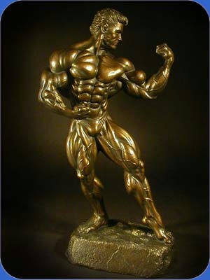 Bodybuilding Amp Powerlifting Sculptures Trophies Figurines