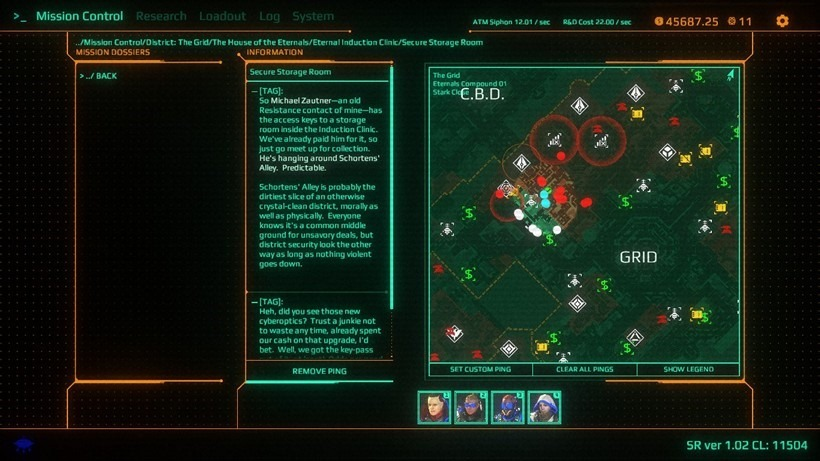 006 - An overview map of your objectives and various things you'll be interested in