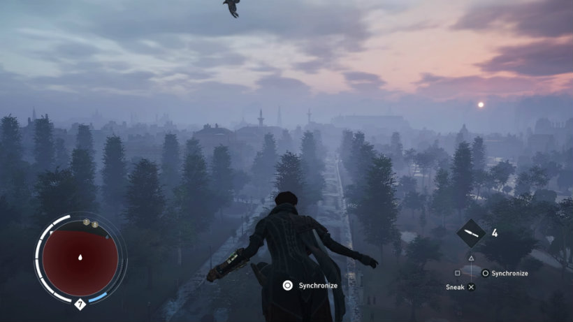 Assassin s creed syndicate misty sunrise from buckingham palace