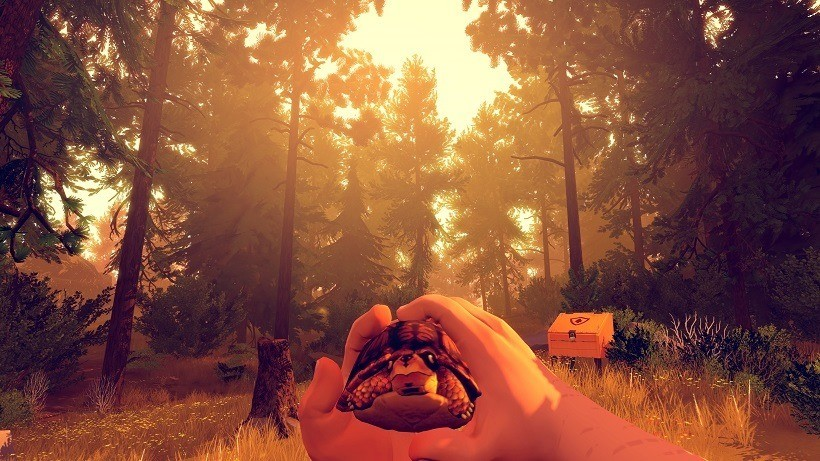 Firewatch will be around six hours long
