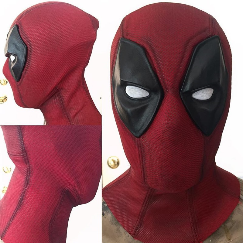 The best deadpool cosplay youll ever see this aint some spandex that you can just slip on and off like reynolds did in the deadpool movie either its the same custom material as the suit solutioingenieria Choice Image
