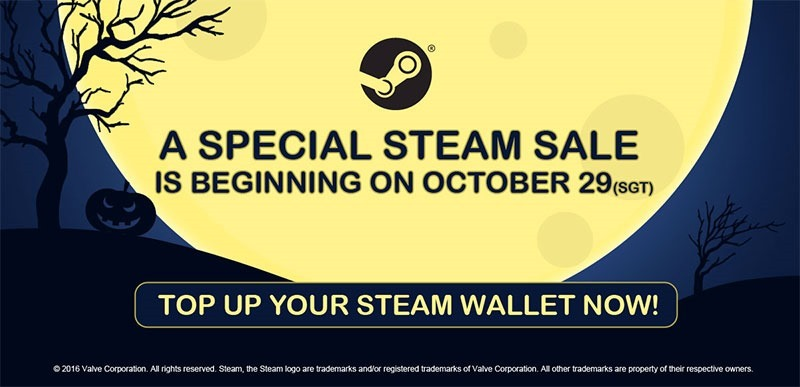 Win one of two R500 vouchers to spend on the Steam Halloween sale ...