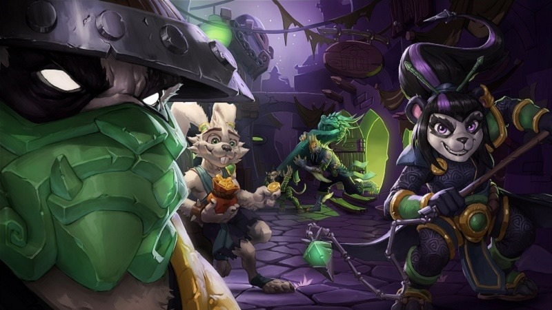 Hearthstone Mean Streets of Gatgetzan