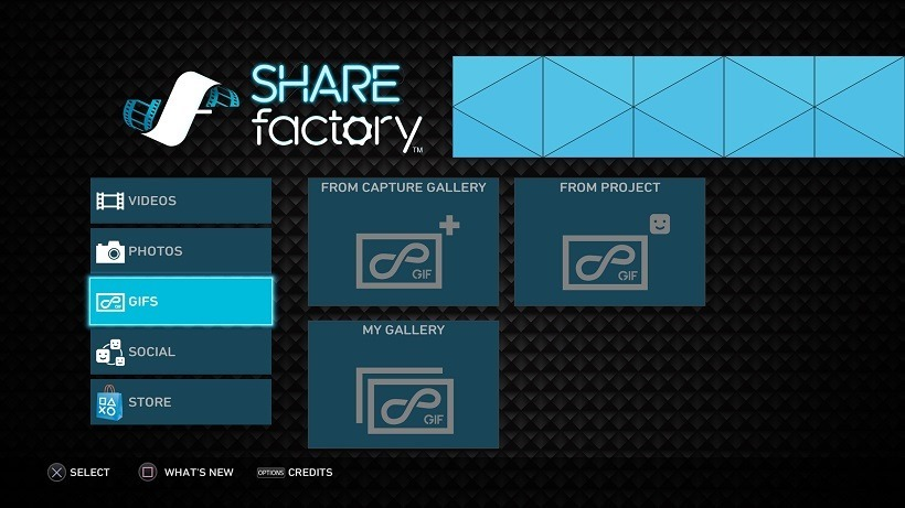 Sharefactory supports gifs now