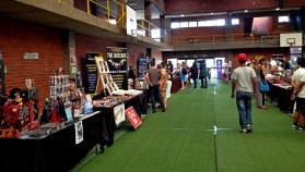 One half of Artists' Alley.