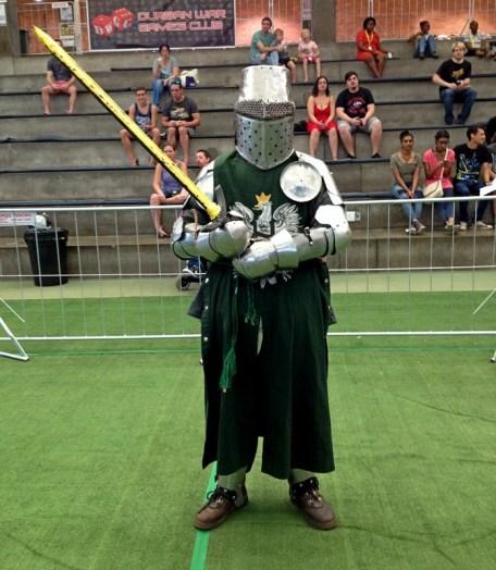 Durban Sword & Shield Club member.