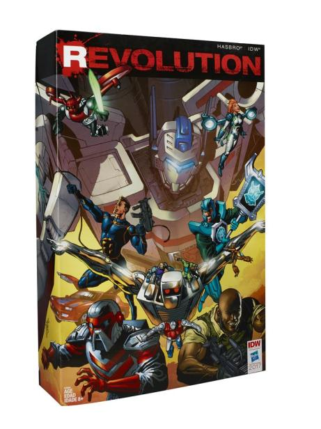 Hasbro revolution set (3)