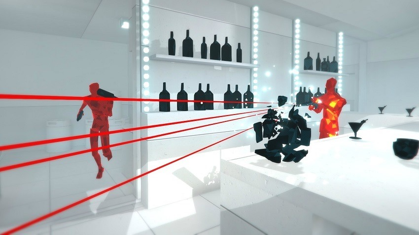 Superhot launches on PS4 and PSVR tomorrow
