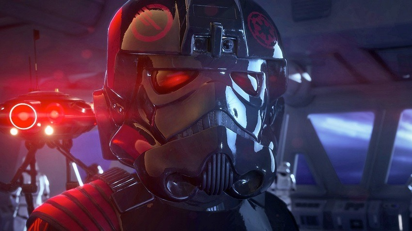Star Wars battlefront II reminds you it has a single player campaign 2
