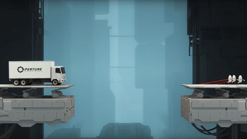 A new Portal game will launch this month-Bridge Constructor Portal