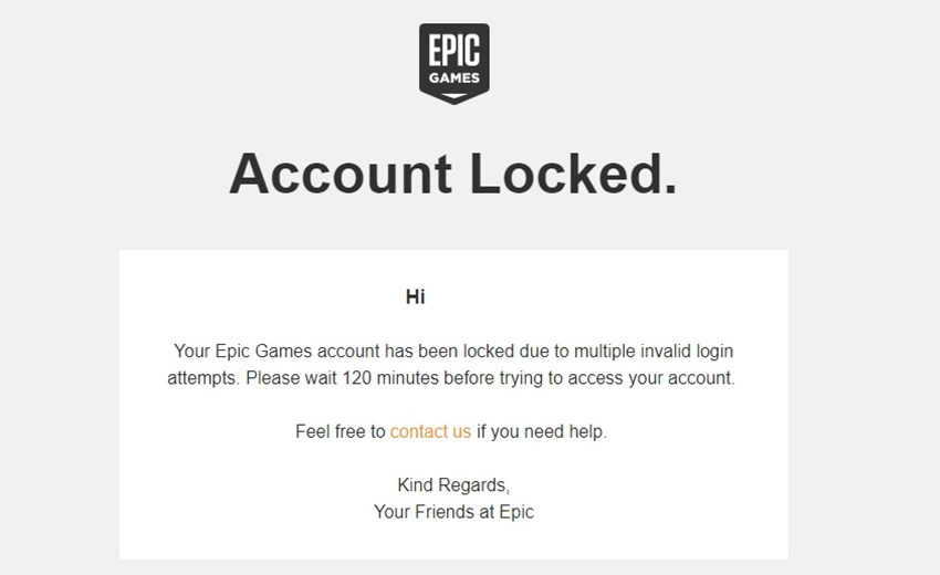Fortnite locked