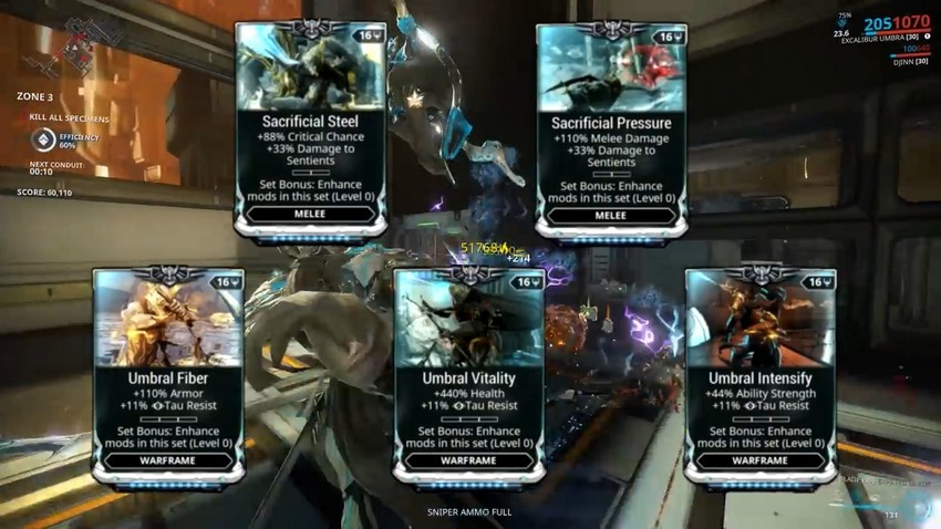 Warframes New Excalibur Umbra Comes Fully Ranked Up With