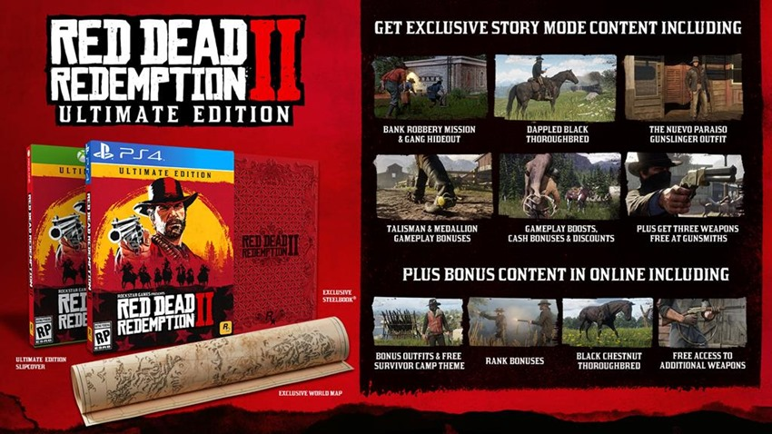 Red Dead 2 special editions (2)