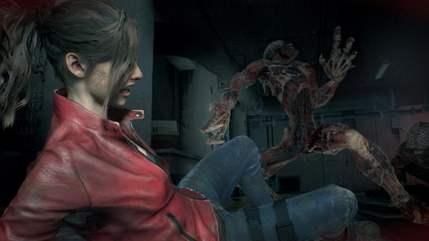 Resident Evil 2 Lickers (7)