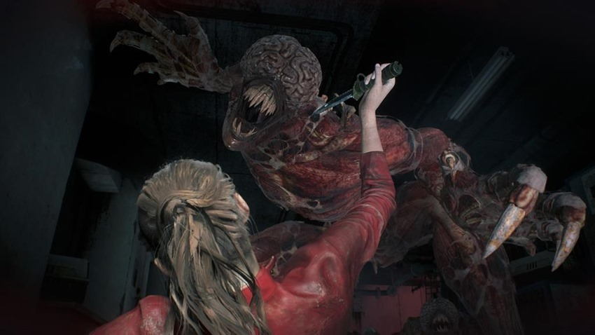 Resident Evil 2 Lickers (8)